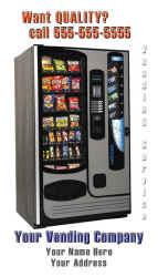 vending machine business cards