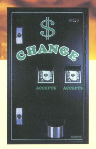change to bills machine