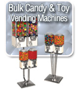 Bulk Candy & Gumball Vending Machines